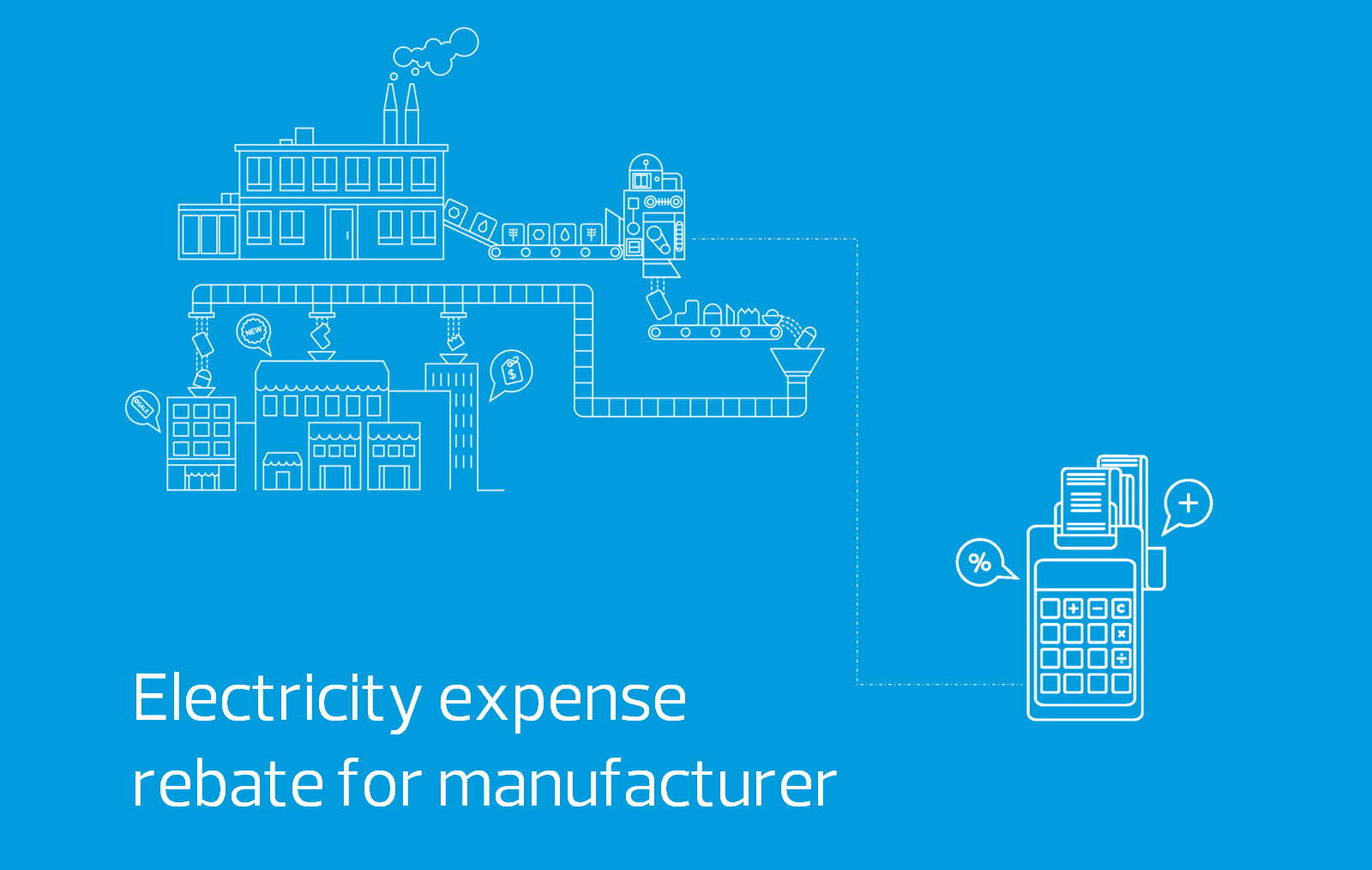 Electricity Expense Rebate For Manufacturer