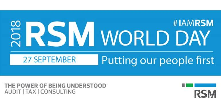 RSM World Day 2018 – Putting our people first