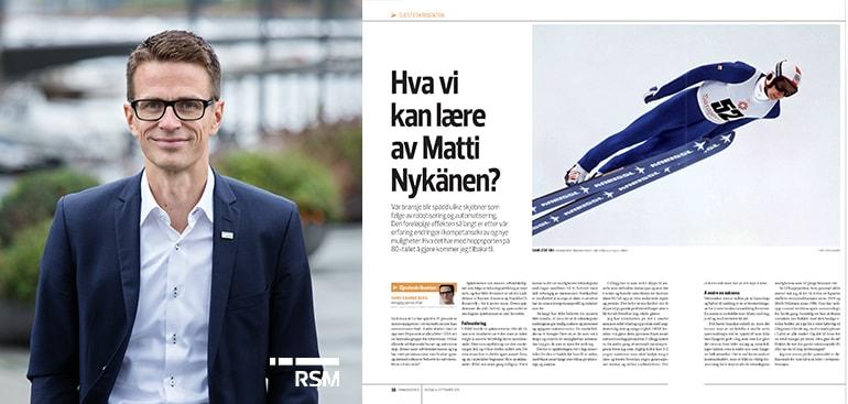 Hva kan vi lære av Matti Nykänen? - Hans Ragnar Berg er gjesteskribent i FA R
