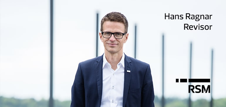 Hans Ragnar Berg, revisor RSM