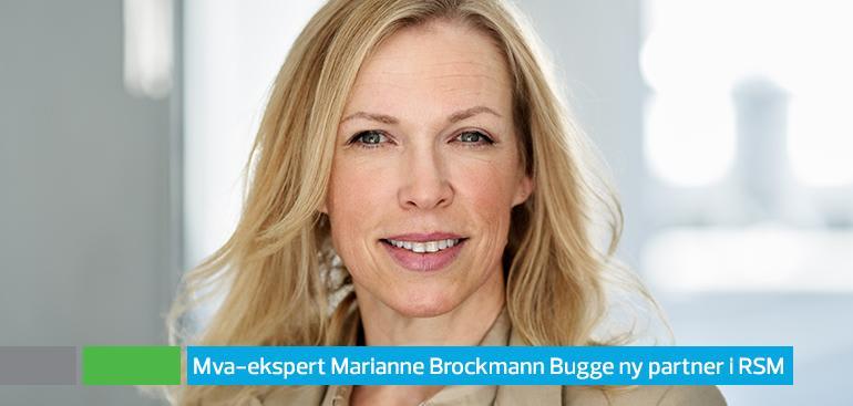 Marianne Brockmann Bugge new partner in RSM Advokatfirma
