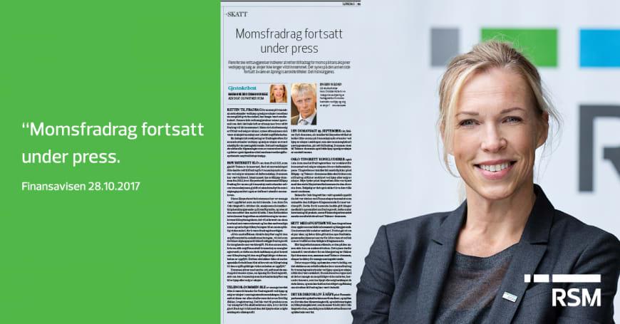 Marianne Brockmann Bugge i Finansavisen