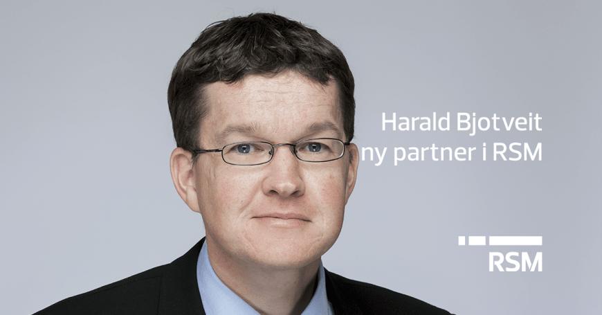 Harald Bjotveit ny partner på Voss