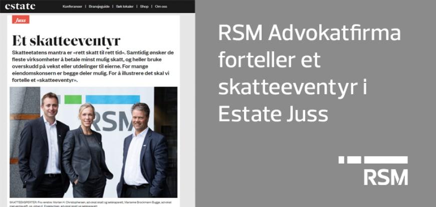 RMS forteller et skatteeventyr i Estate 7.2.19