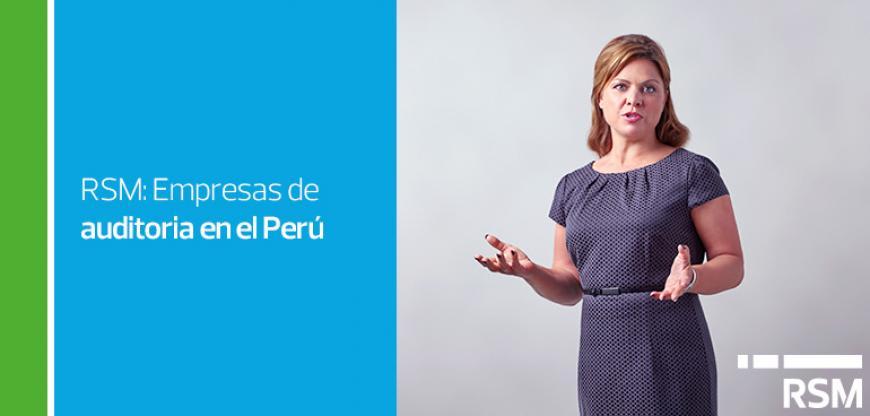 Empresas de auditoría en el Perú