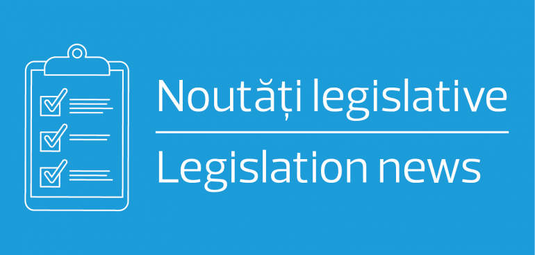 Legislation News no. 41/12.06.2020: