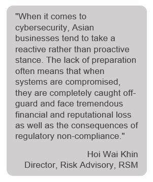 4 deadly cybersecurity risks that threaten businesses   RSM Singapore