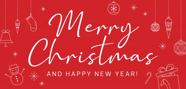 Wishing You a Very Merry Christmas and a Happy New Year!
