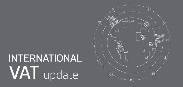 International VAT Update – July 2020