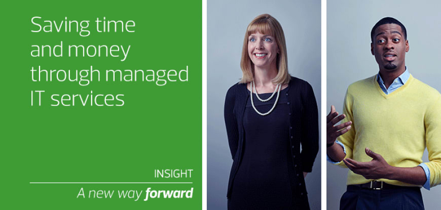 Saving time and money through managed IT services