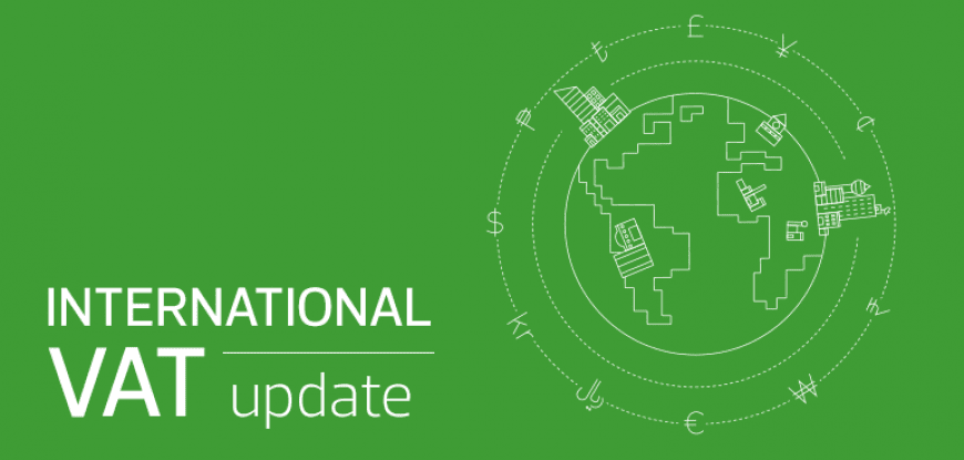 International VAT Update: January 2020