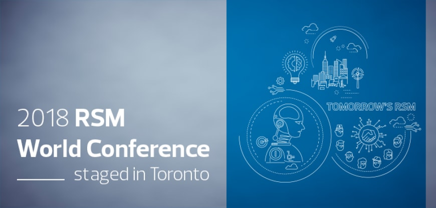 RSM World Conference staged in Toronto