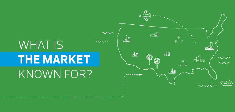 What is the market in the US known for?