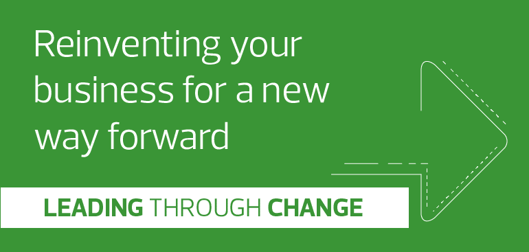 Reinventing your business for a new way forward