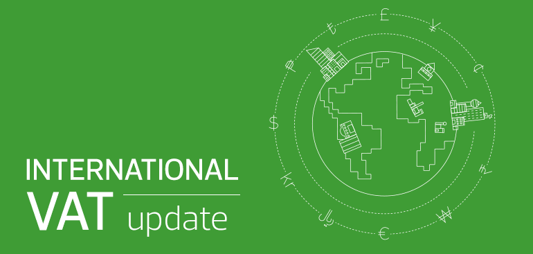 International VAT Update: January 2020