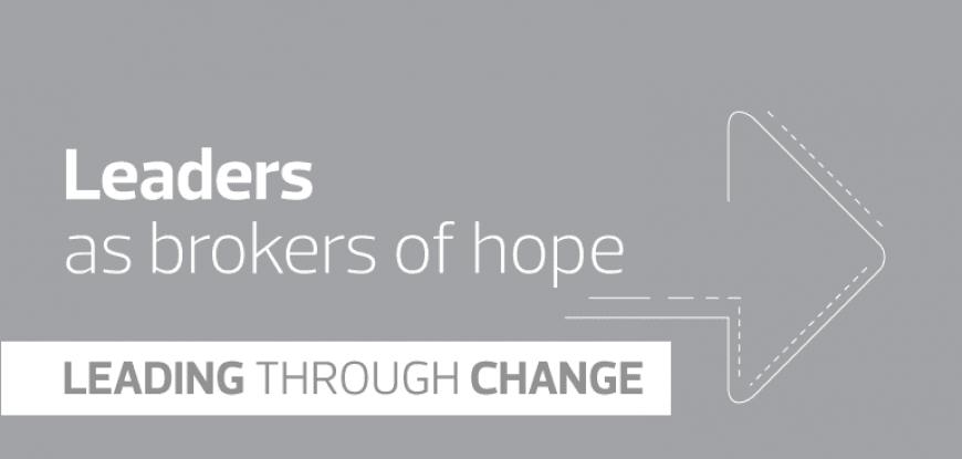 Leaders as brokers of hope