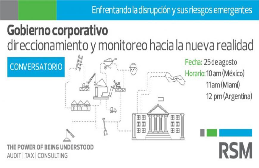 Webinar: gobierno corporativo direccionamiento y monitoreo hacia la nueva realidad