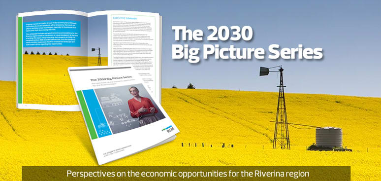 Perspectives on the economic opportunities for the Riverina region in New South Wales