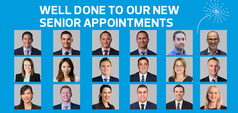 New senior appointments at RSM respond to client demands
