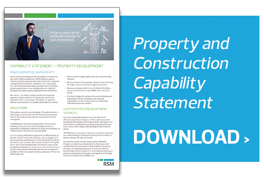 Download the Property and Construction Capability Statement