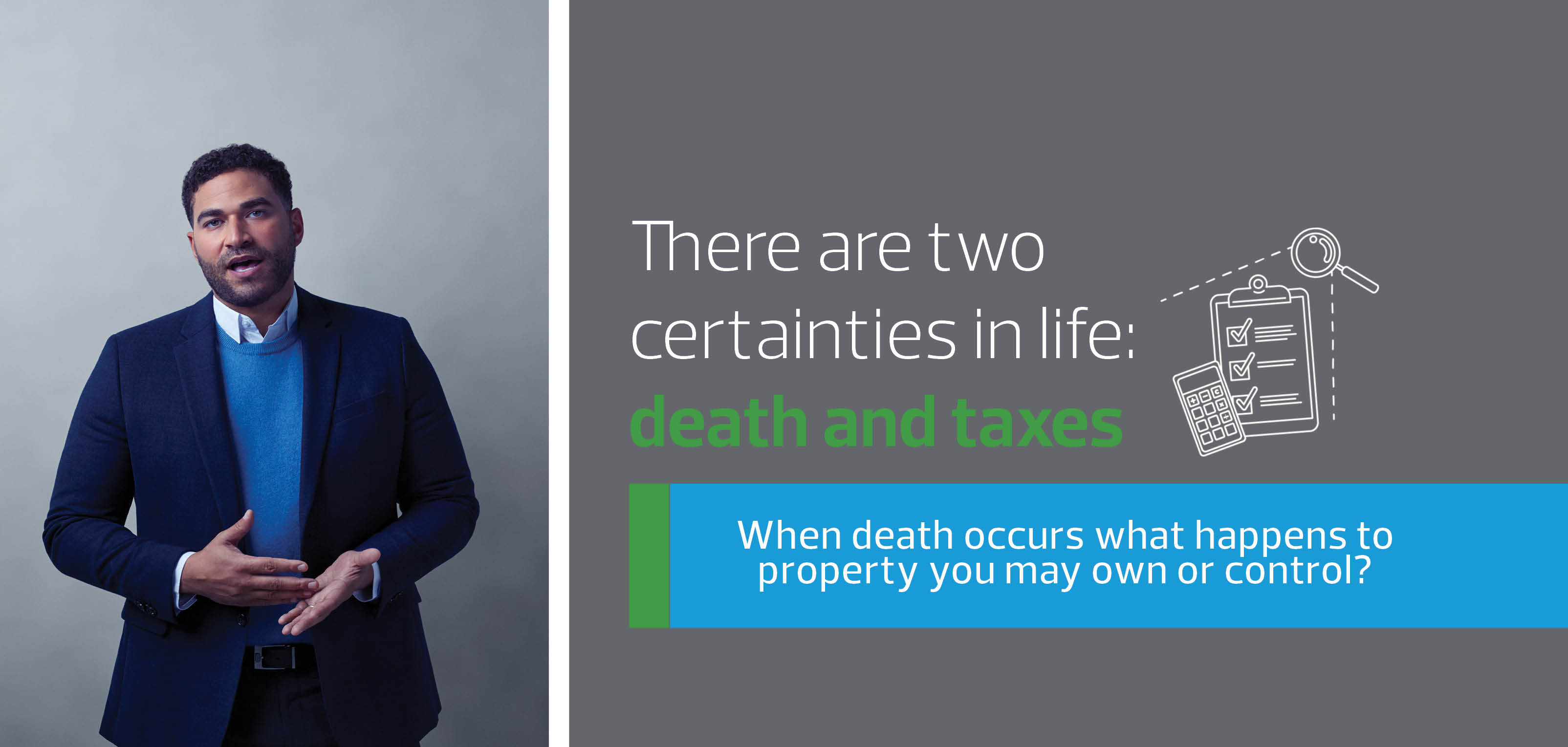 TAX, DEATH AND PROPERTY<br />