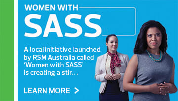 Women with Sass - an initiative by RSM
