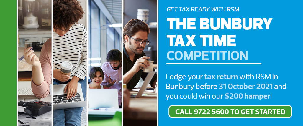 Lodge your Tax Return with RSM in Bunbury this October 2021 for your chance to win.