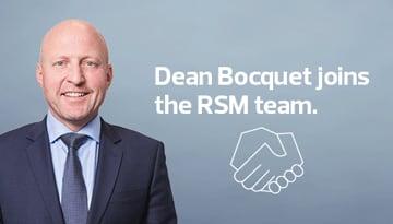 Dean Bocquet joins the RSM in albury team