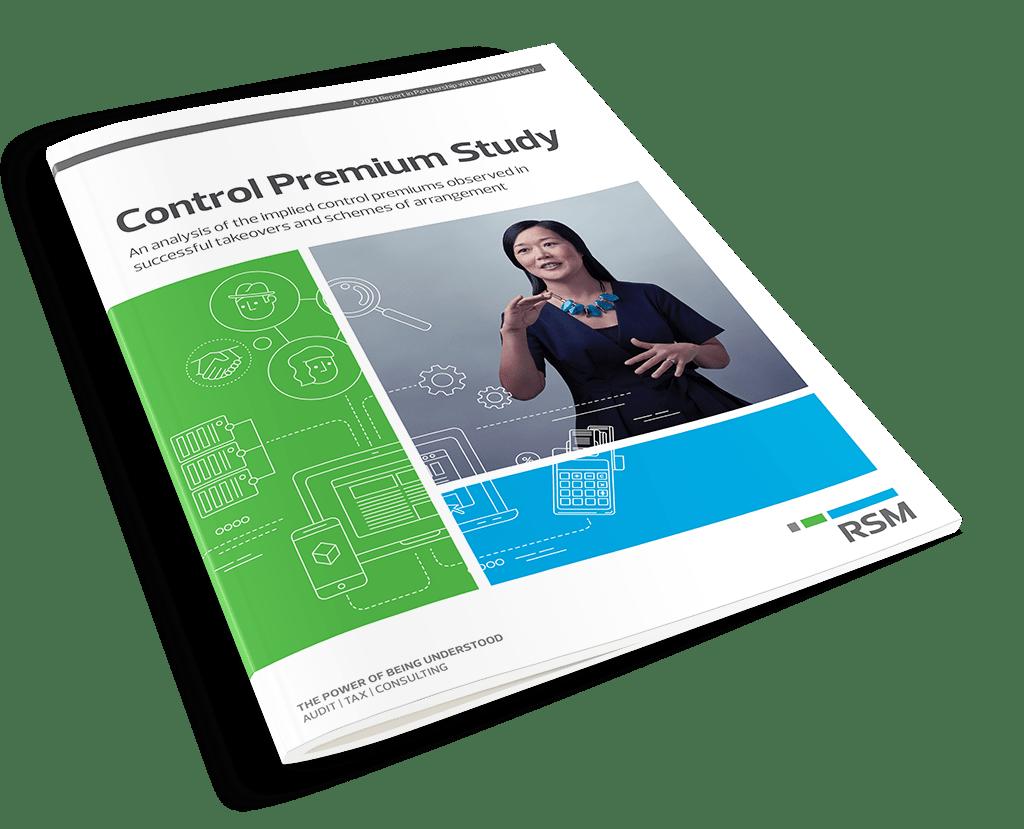 Control Premium Study 2021