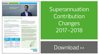 Superannuation Contribution Changes
