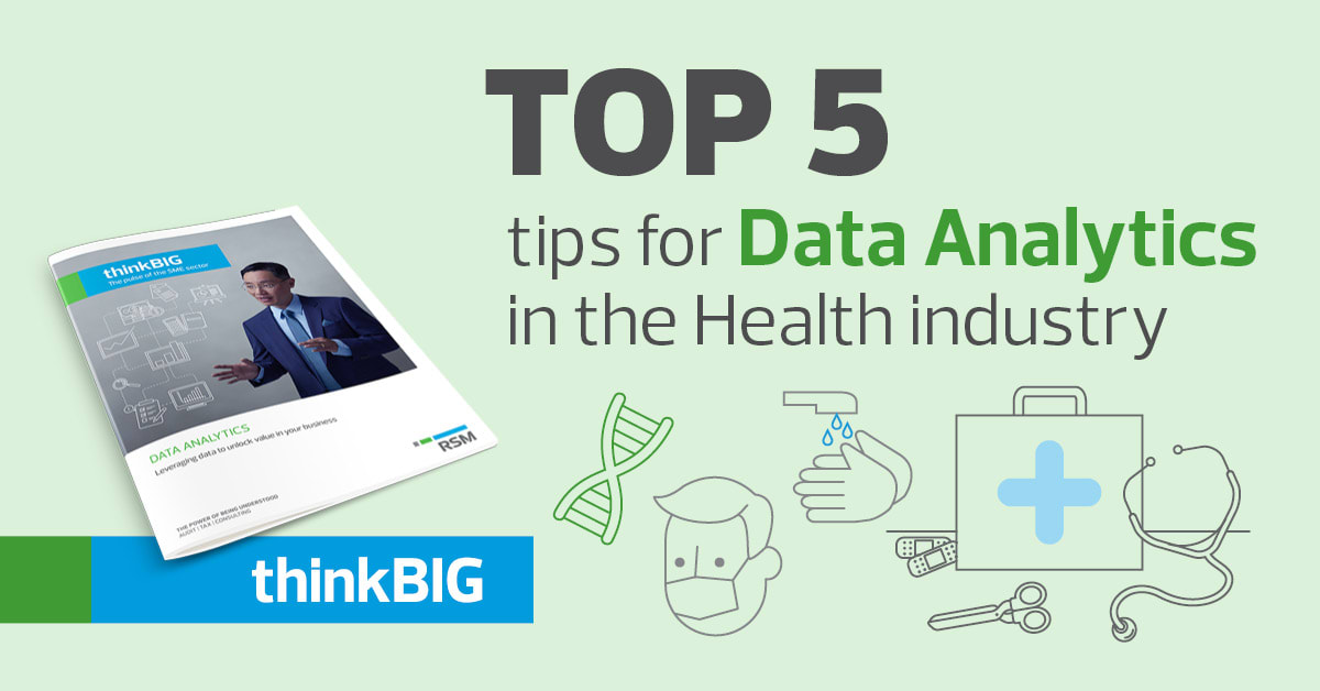 Data Analytics in the Healthcare sector