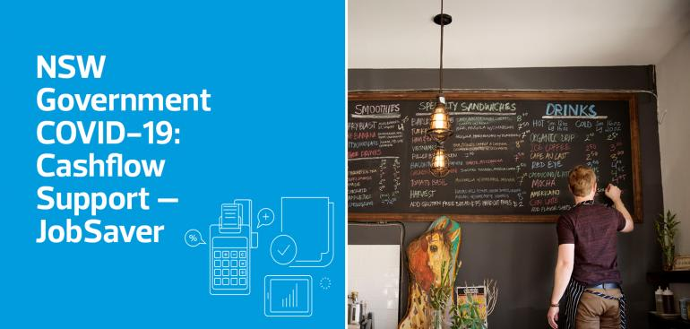 NSW Government COVID-19: Cashflow Support – JobSaver