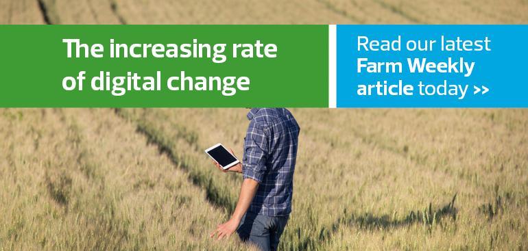 The increasing rate of digital change