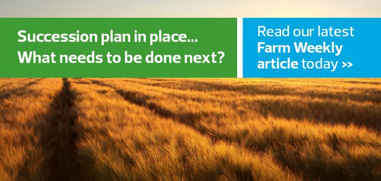 Succession plan in place – what needs to be done next?