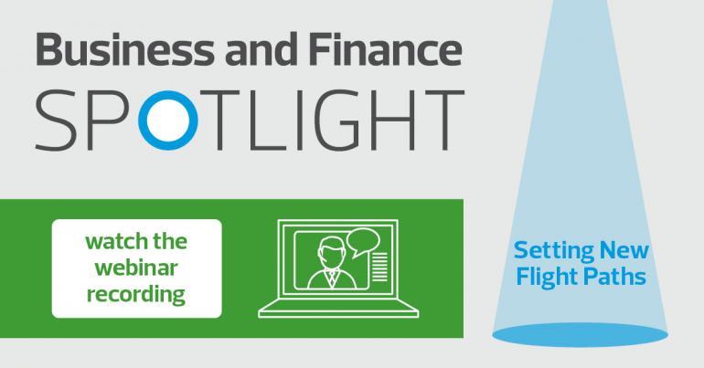 Business and Finance Spotlight Webinar