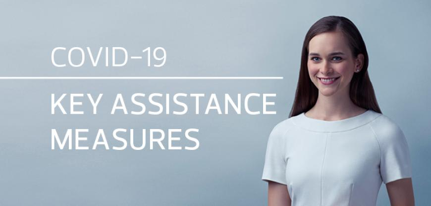 Key assistance measures for COVID-19