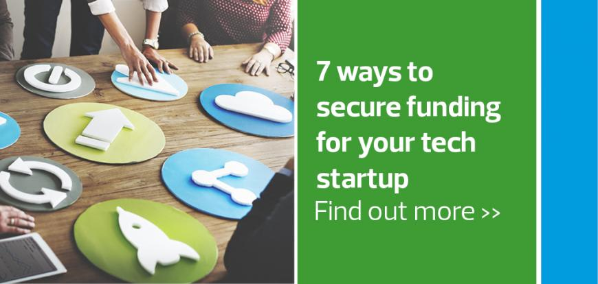 tech startup, secure funding