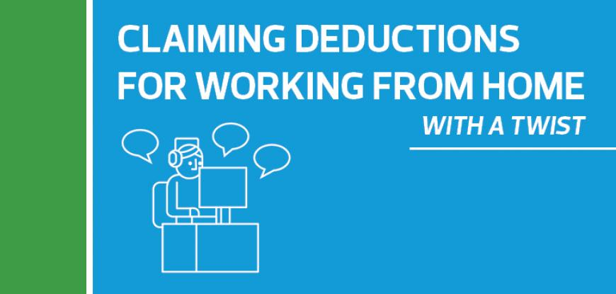 What deductions can you claim when working from home?