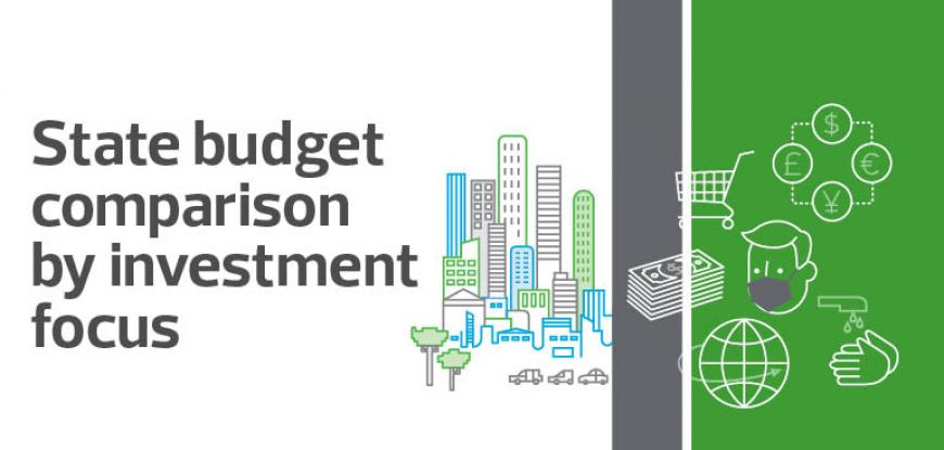 State Budget Comparison - how does investment differ across the states and budgets?