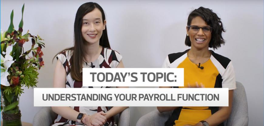 Understanding your payroll function