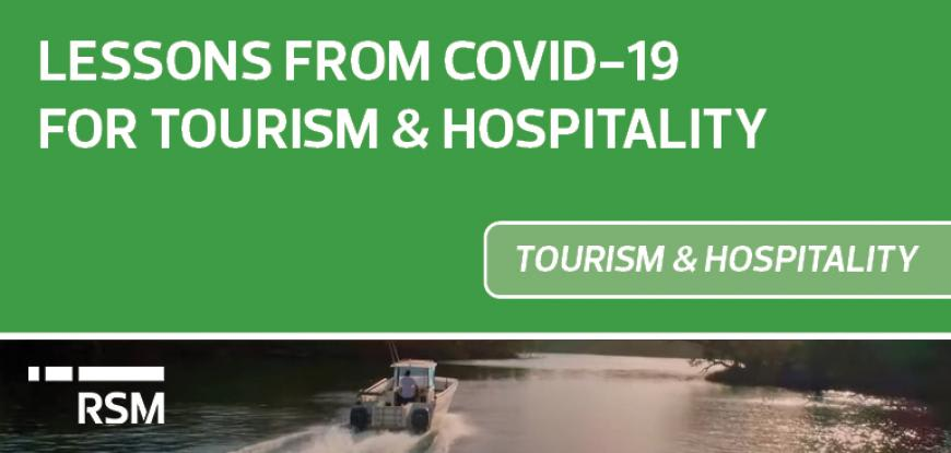 COVID-19 lessons for tourism & hospitality businesses