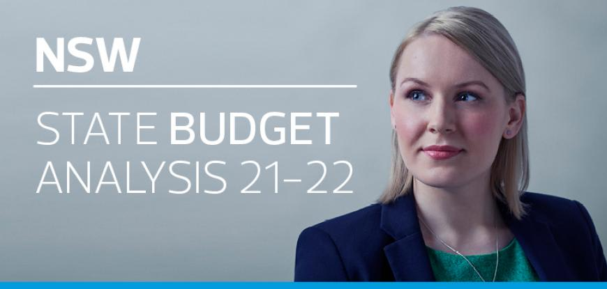 New South Wales State Budget Analysis 2021-22
