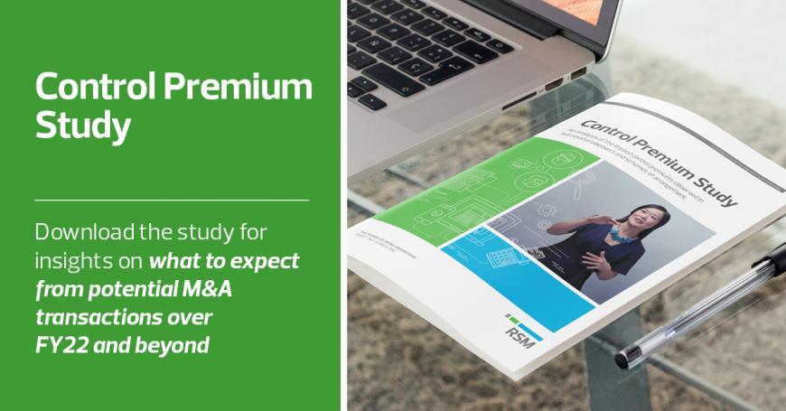 Control Premium Study Booklet