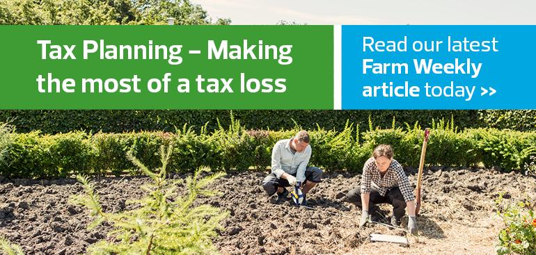 Tax planning - making the most of a tax loss