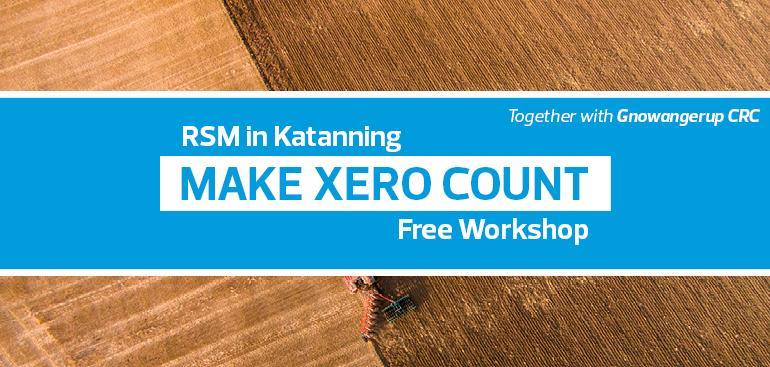 Make Xero Count | Gnowangerup CRC