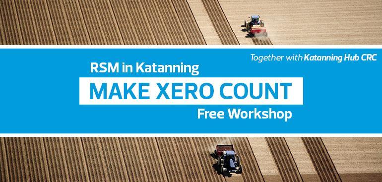 Make Xero Count | Katanning Hub CRC