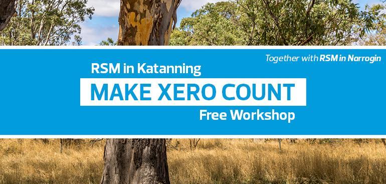 Make Xero Count | RSM in Narrogin