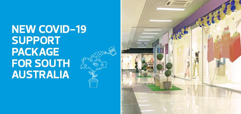 New COVID-19 Support Package for South Australia - Shopping Center