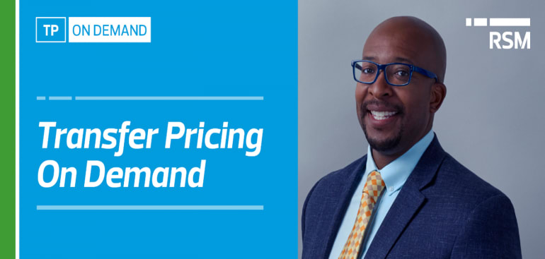 Transfer Pricing on Demand