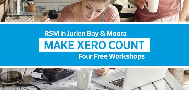 Make Xero Count Workshops | Jurien Bay & Moora